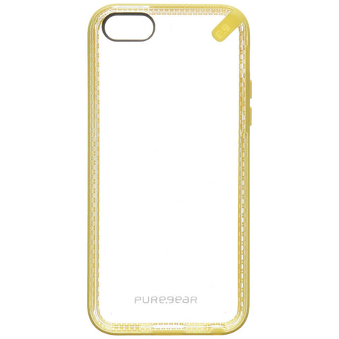 PureGear Slim Shell Clear Back Case for iPhone 5C - Yellow