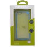 PureGear Slim Shell Clear Back Case for iPhone 5C - Blue