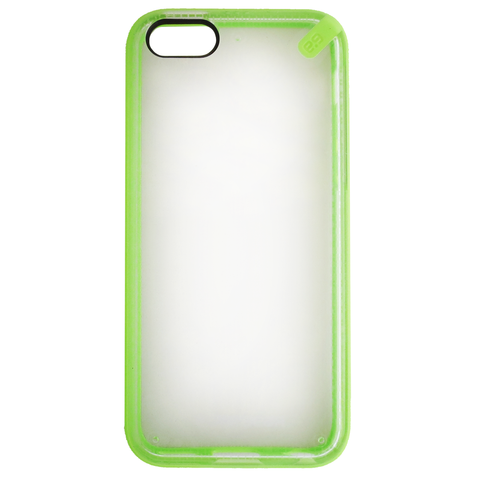 PureGear Slim Shell Clear Back Case for iPhone 5C - Green