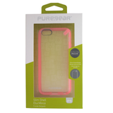 PureGear Slim Shell Clear Back Case for iPhone 5C - Pink