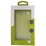 PureGear Slim Shell Clear Back Case for iPhone 5C - White