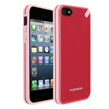 PureGear Slim Shell Case for iPhone 5S/5 - Strawberry Rhubarb