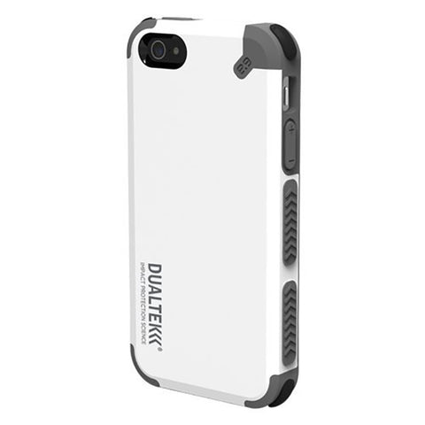 PureGear DualTek Case for iPhone 5S/5 - White/Gray
