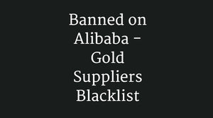 Banned on Alibaba