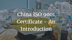 China ISO 9001 Certificate