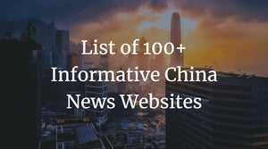 List of 100+ Informative China News Websites