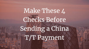 China T/T Payment