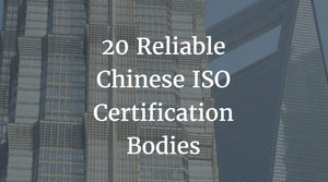 Chinese ISO Certification Bodies