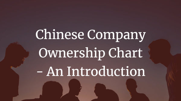 Chinese Company Ownership Chart - An Introduction