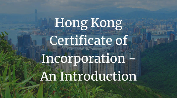 Hong Kong Certificate of Incorporation - An Introduction