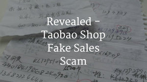 Taobao Shop Fake Sales