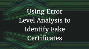Error Level Analysis