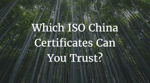ISO China Certificates
