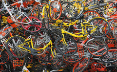 China Bicycle Graveyard