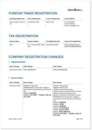 Taiwan Pro Verification (Related Company)