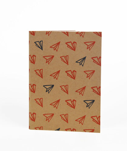 Paper Planes Wire Bind Notebook