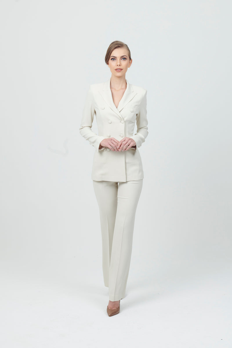 DB Suit with Flare pleat pant