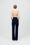 Tuta Flare Backless Bow