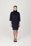Trapeze Coat 3/4 Sleeve - My Graphiti