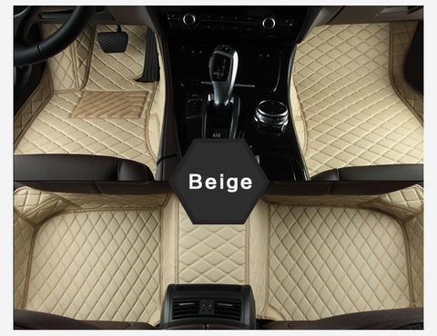 Beige Luxury Car Mat