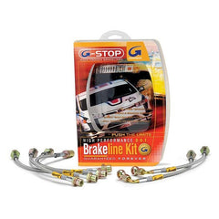 Goodridge Steel Braided Brake Lines - 05-08 - 987 , Brakes - Goodridge, Mid Engine Porsche