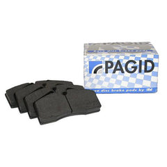 Pagid Black Brake Pad Set Front - 97-08 - 986/987 , Brakes - Pagid, Mid Engine Porsche