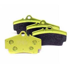Pagid Yellow Brake Pad Set Rear - 97-12 - 986/987 , Brakes - Pagid, Mid Engine Porsche