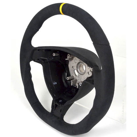 987 Boxster & Cayman Custom Alcantara Steering Wheel - Triangle , Interior - Agency Power, Mid Engine Porsche  - 1