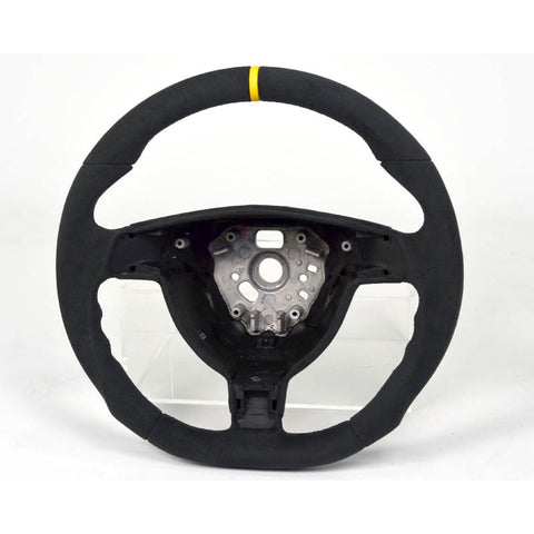 987 Boxster & Cayman Custom Alcantara Steering Wheel - Round , Interior - Agency Power, Mid Engine Porsche  - 1