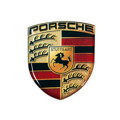 OEM Porsche Dome Crest Decal , Accessories - Rennline, Mid Engine Porsche