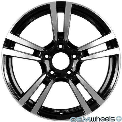 "19"" OEM Replica Turbo II Style Wheels - Black Machined Face PS524 - Fits: Boxster & Cayman 986/987/981 , Wheels - OEM Wheels Plus, Mid Engine Porsche  - 1"