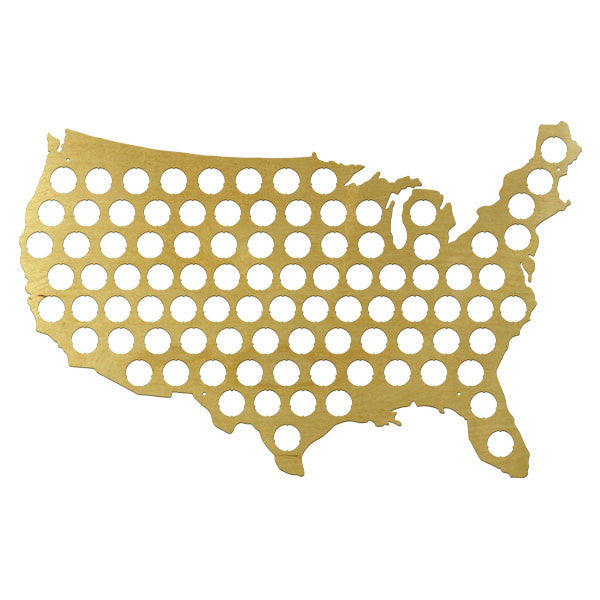 US Beer Cap Map Merad - Us beer cap map
