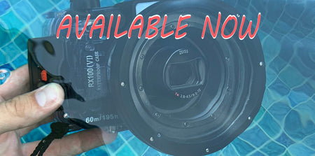 SeaFrogs Underwater camera housing for Sony RX100 VI is available for purchase now!