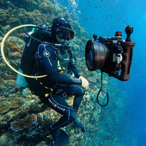 Underwater Housing A6xxx Series Salted Line for Sony Alpha 6000/6300/6500 family.