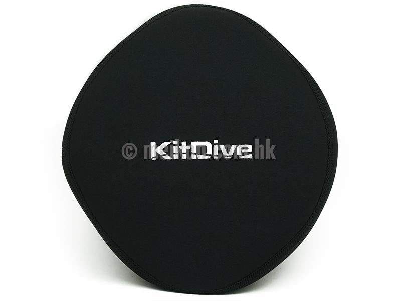 "KitDive 6"" Dry Dome Port Neoprene cover"