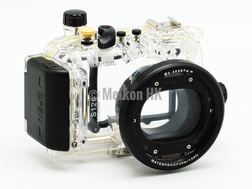 Canon PowerShot S120 40m/130ft Meikon Underwater Camera Housing
