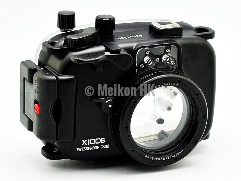 Fujifilm X100S 40m/130ft Meikon Underwater Camera Housing