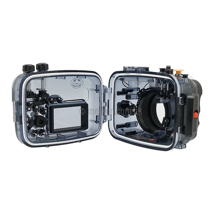 Sony A6500/A6400/A6300/A6000 60m/195ft SeaFrogs Underwater Camera Housing
