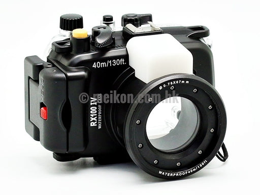 Sony DSC-RX100 IV/ RX100 V 40m/130ft Meikon Underwater Camera Housing