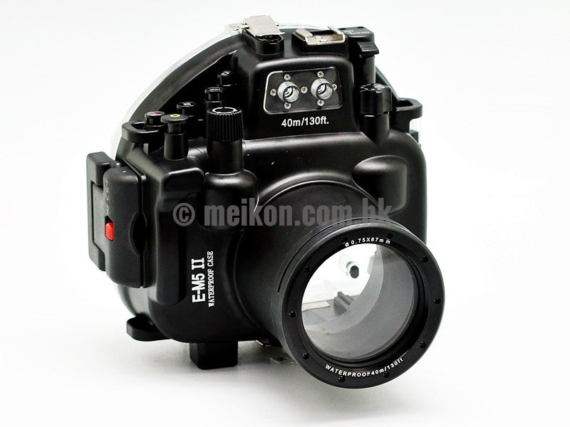 Olympus E-M5 II (12-50) 40m/130ft Meikon Underwater Camera Housing