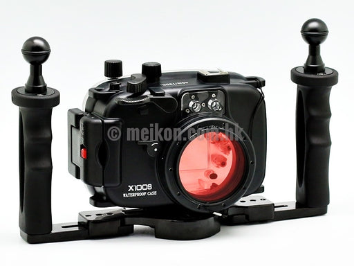 Fujifilm X100S 40m/130ft Meikon Underwater Camera Housing Kit