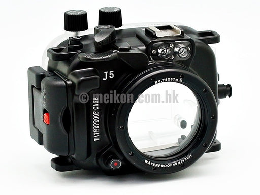 Nikon 1 J5 (10) 40m/130ft Meikon Underwater Camera Housing