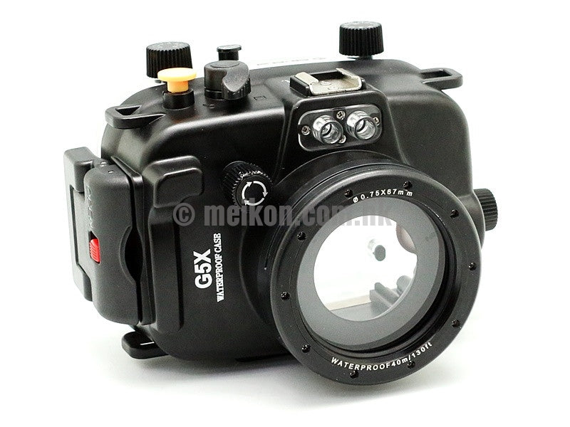Canon PowerShot G5X 40m/130ft Meikon Underwater Camera Housing