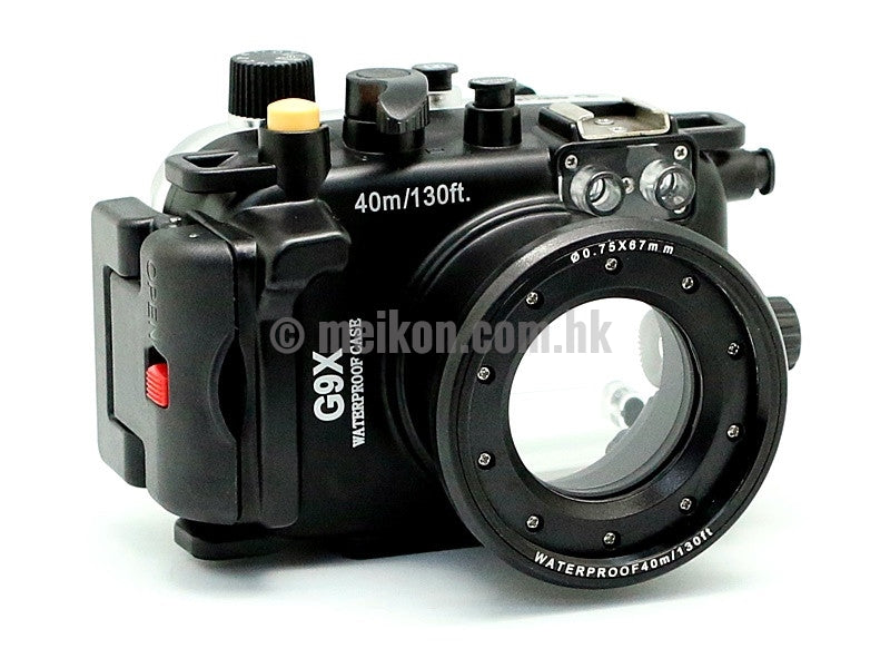 Canon PowerShot G9X 40m/130ft Meikon Underwater Camera Housing