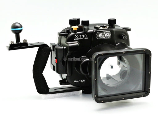 Fujifilm X-T10 / X-T20 (16-50) 40m/130ft Meikon Underwater Camera Housing Kit