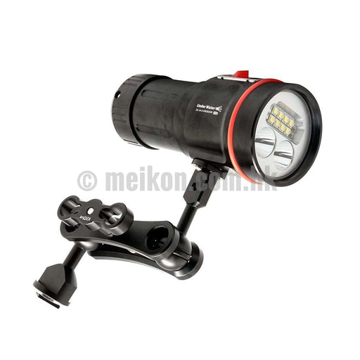 ARCHON W43VP 5200 Lumens LED Light & MS1 Underwater Video light / Strobe mounting system
