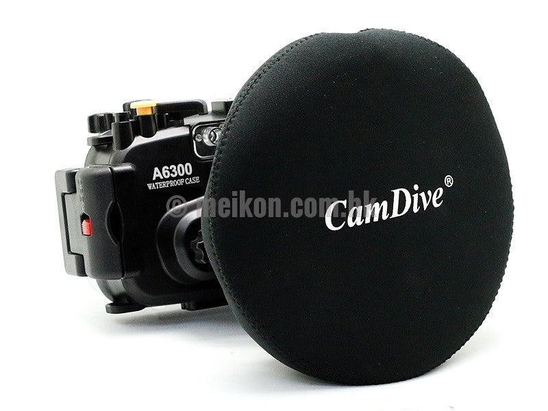 Sony A6300 (16-50) 40m/130ft Meikon Underwater camera housing wide angle lens kit