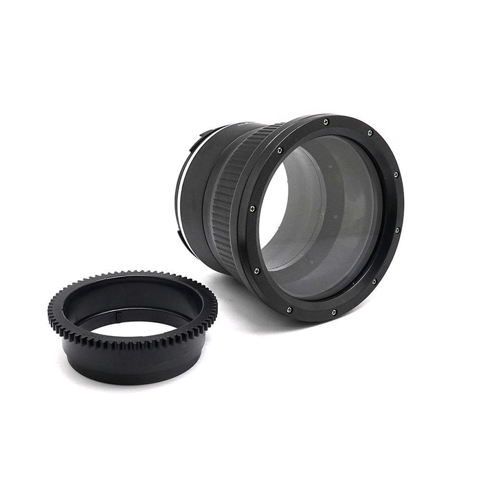 Flat port for Sony FE 28-70mm F3.5-5.6 OSS Lens 40M/130FT (Manual zoom gear included) - A6XXX SALTED LINE
