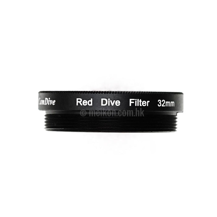 Red Diving filter 32mm for Meikon iPhone & Samsung waterproof mobile cases
