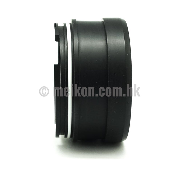 Short Macro port for Salted Line series waterproof housings with 67mm thread 40M/130FT